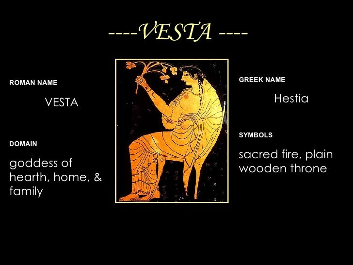 12 Roman Gods/Goddesses