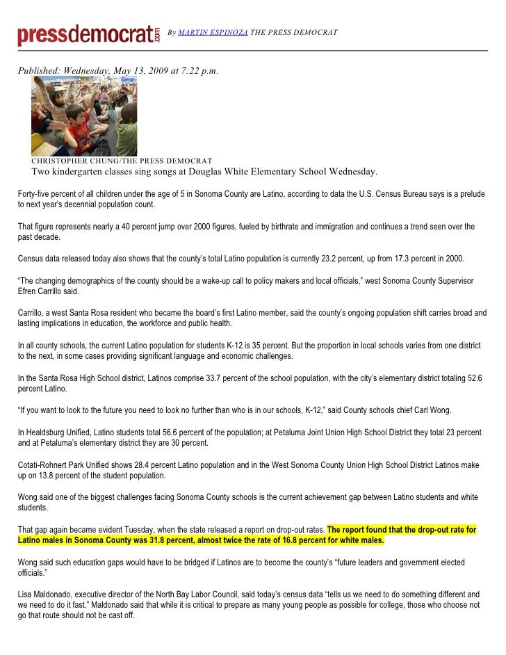 By MARTIN ESPINOZA THE PRESS DEMOCRAT    Published: Wednesday, May 13, 2009 at 7:22 p.m.         CHRISTOPHER CHUNG/THE PRE...