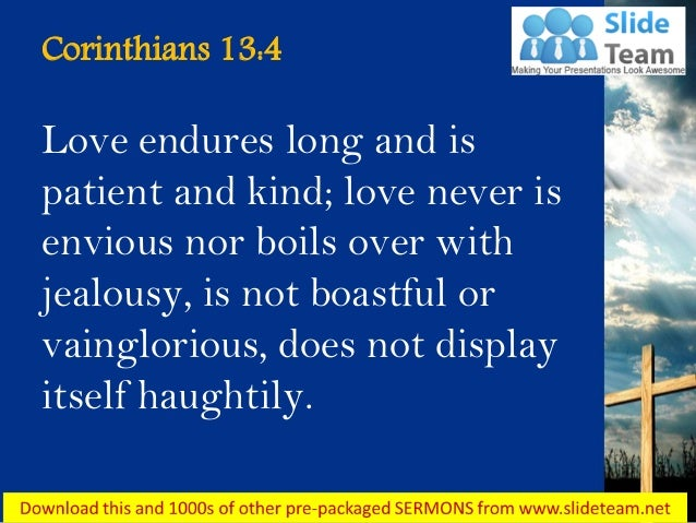 1 corinthians 13 what is love essay What does the bible say about love check out this bible study on love from 1 corinthians 13.