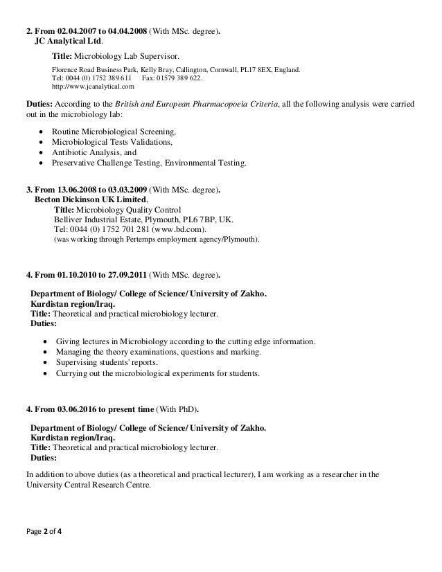 msc bioinformatics resume sas resume sample resume cv cover