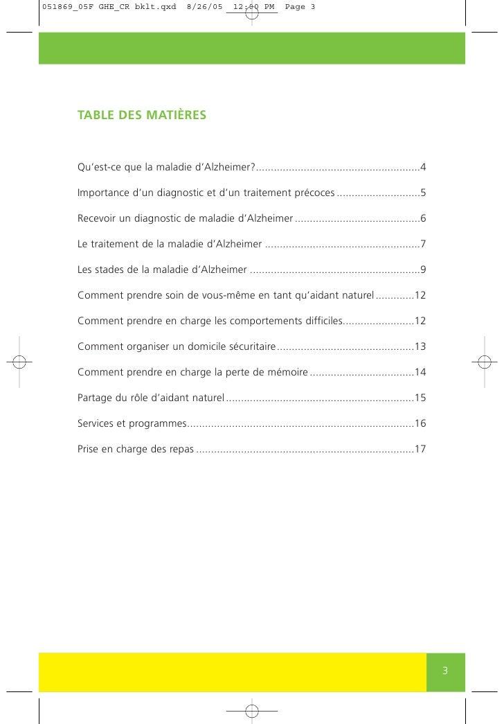 Comprendre la maladie d'Alzheimer Slide 3