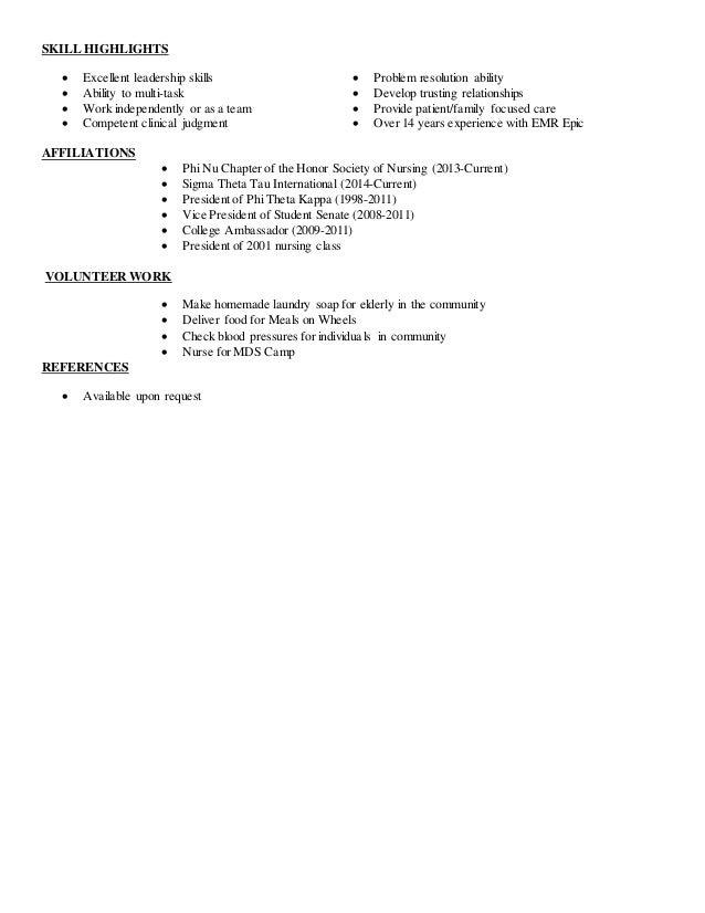 Family Nurse Practitioner Resume