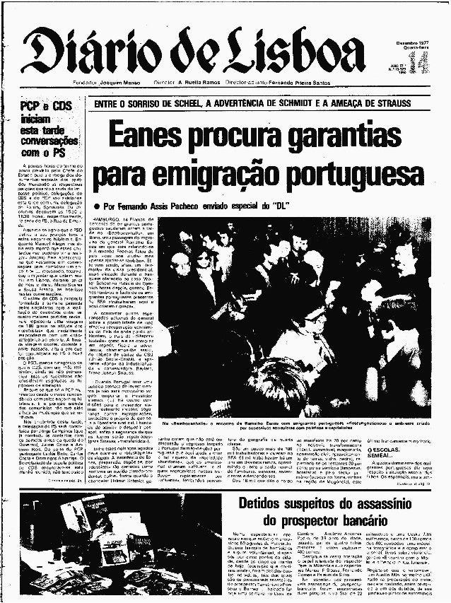 Diário de Lisboa – 14 de Dezembro de 1977
