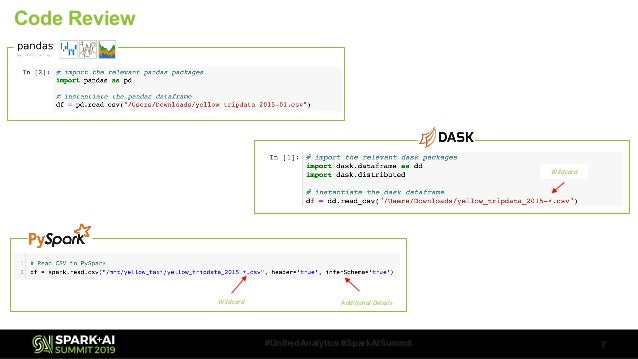 DASK and Apache Spark