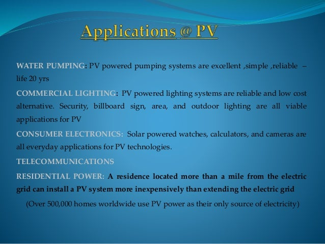 Photovoltaics Cell Pv Cell Solar Cell