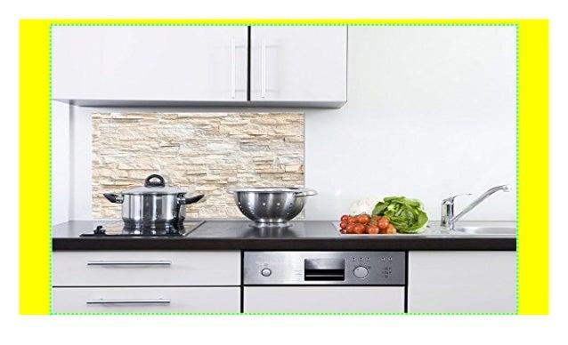 GRAZDesign 200093_100x60_SP Küchen-Spritzschutz aus Echtglas ...