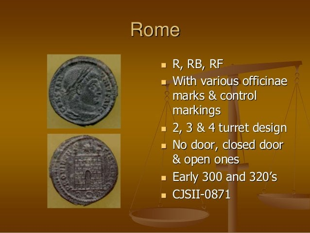 Rome  R, RB, RF  With various officinae marks & control markings  2, 3 & 4 turret design  No door, closed door & open ...