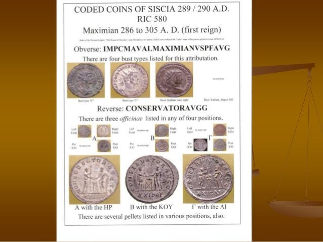 Roman Minted coins for RNA Coin Show 2012