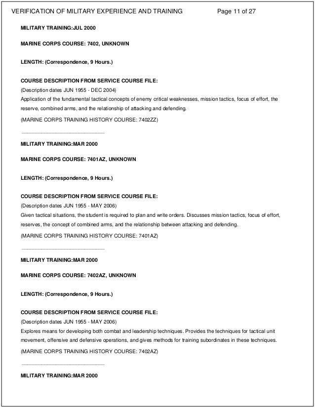 BUSS TROY L VMET Certificates