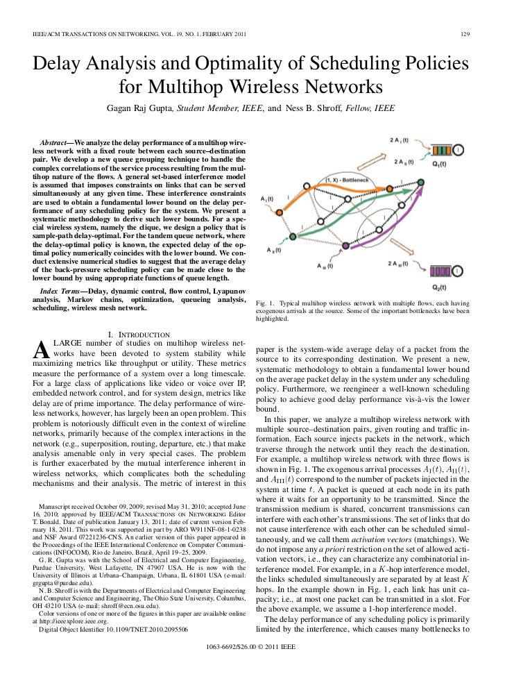IEEE/ACM TRANSACTIONS ON NETWORKING, VOL. 19, NO. 1, FEBRUARY 2011                                                        ...