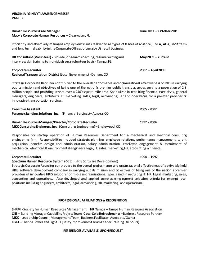 SlideShare  Resume Employment History