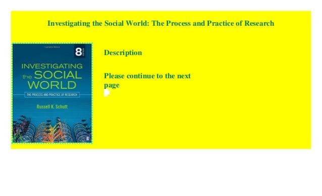 Pdf social world investigating the