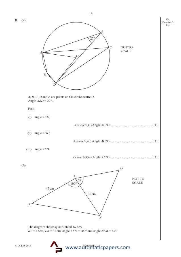 Quadrilaterals, polygons and transformations