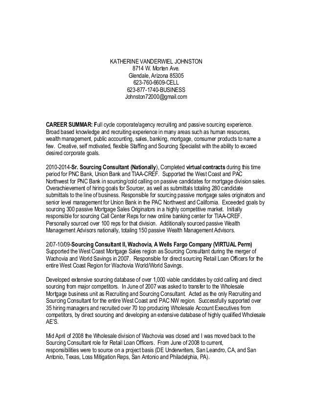 KATHERINE VANDERWIEL JOHNSTON 8714 W. Morten Ave. Glendale, Arizona 85305 623-760-6609-CELL 623-877-1740-BUSINESS Johnston...