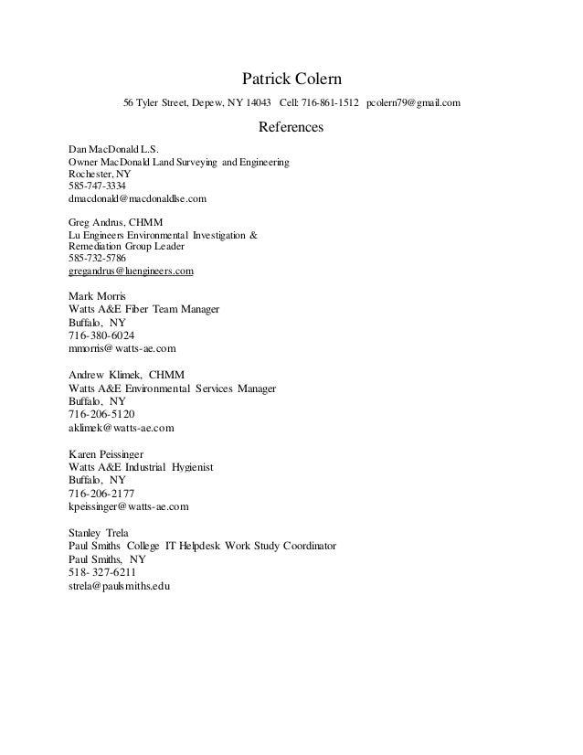 hazwoper 3 - Work Study Cover Letter