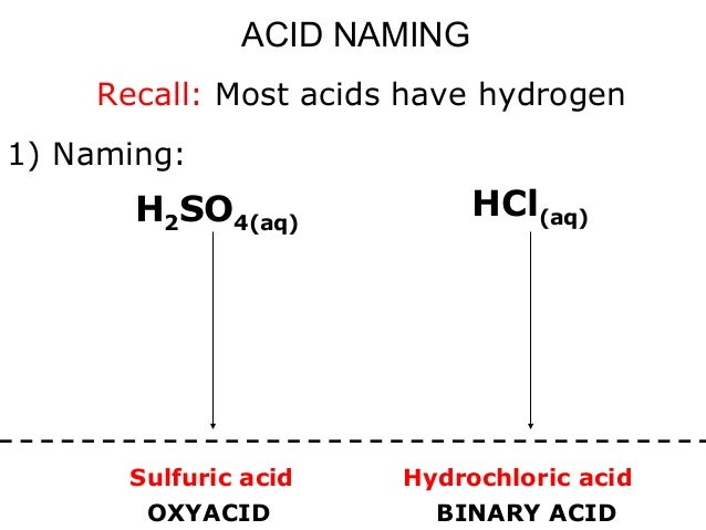 05 acids + bases