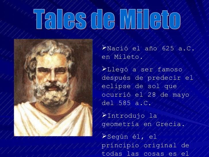 Filósofos De La Edad Antigua