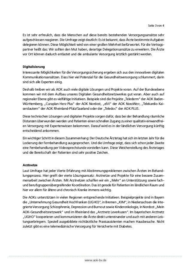 """Pressestatement von Dr. Irmgard Stipper (Vorstandsvorsitzende der AOK Bayern) zur AOK-Initiative """"Stadt. Land. Gesund."""" Slide 3"""