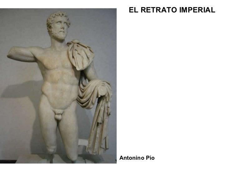 Antonino Pío EL RETRATO IMPERIAL