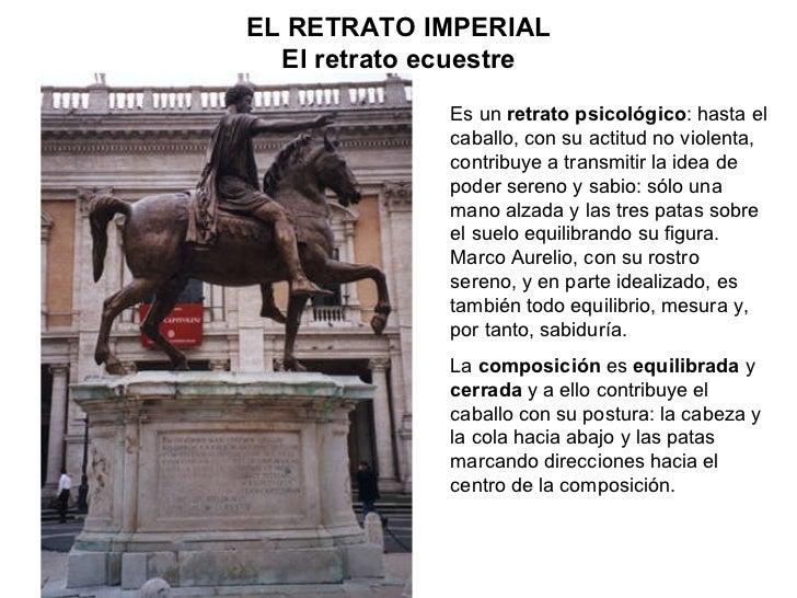 Es un  retrato psicológico : hasta el caballo, con su actitud no violenta, contribuye a transmitir la idea de poder sereno...