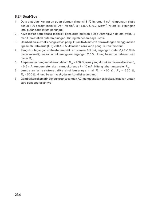 05 Bab 08 Alat Ukur Dan Pengukuran Listrik