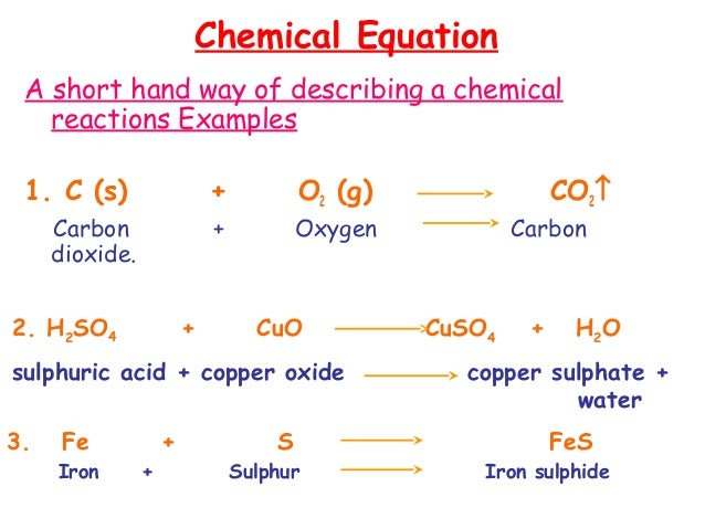 05b Chemical Equations