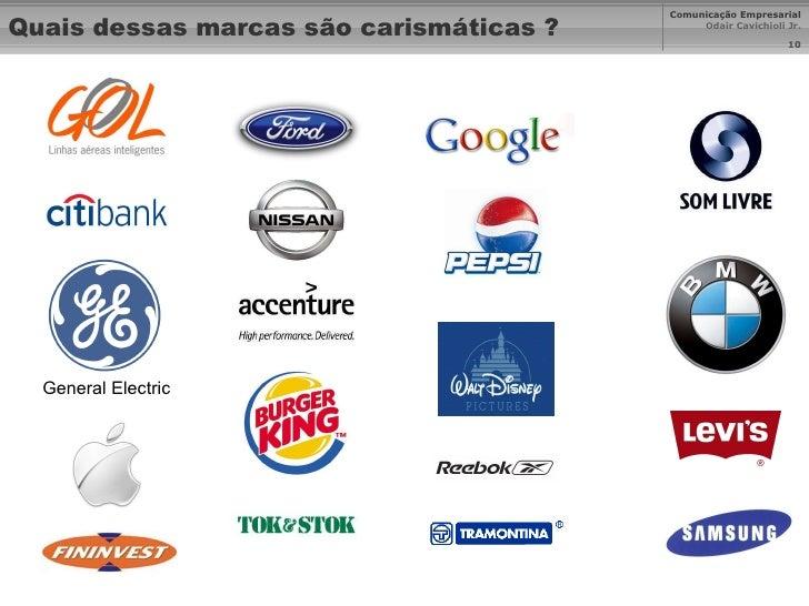 Quais dessas marcas são carismáticas ? General Electric