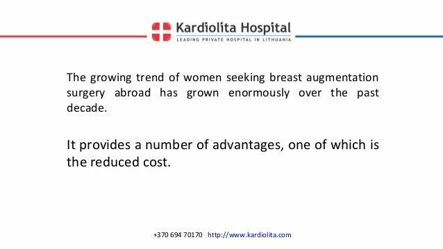Breast augmentation lithuania