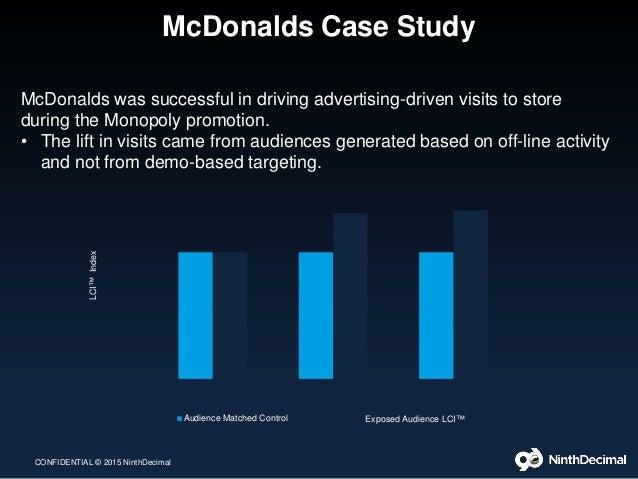Essay, McDonald's Case Study