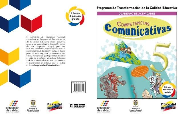 Programa de Transformación de la Calidad Educativa                                                   Libro de             ...