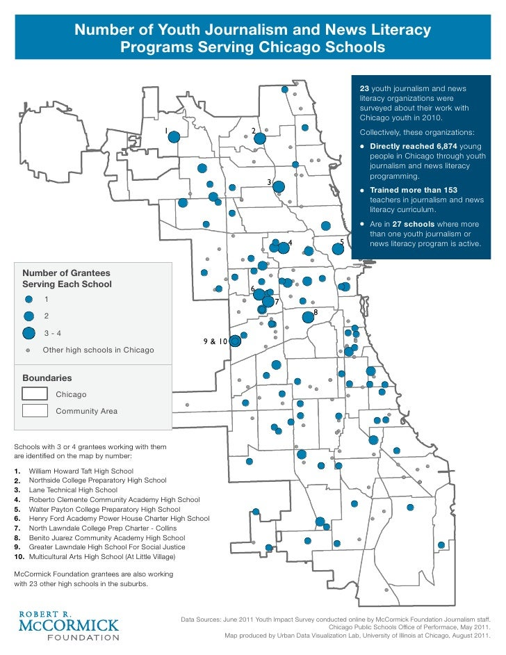 Number of Youth Journalism and News Literacy                      Programs Serving Chicago Schools                        ...