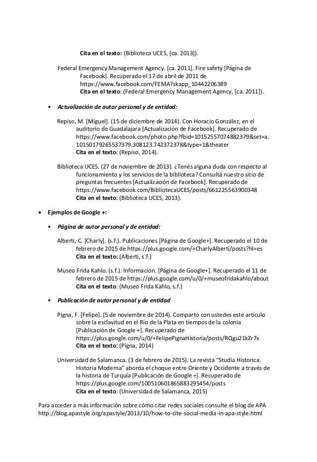 05 Citas Bibliograficas Apa 2015 Unico