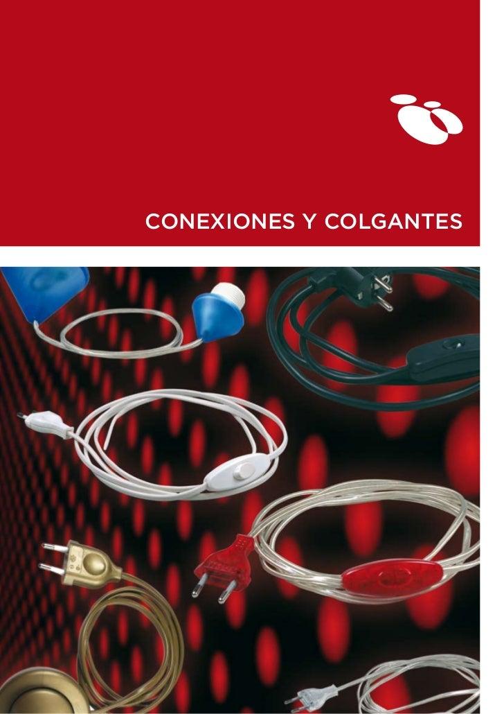CONEXIONES Y COLGANTES