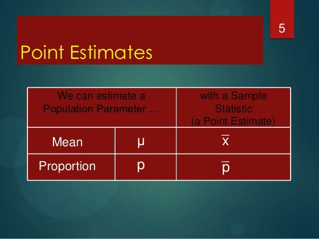 estimate a population parameter To evaluate a population parameter is probably the most common research activity anywhere to estimate the accuracy of the results.