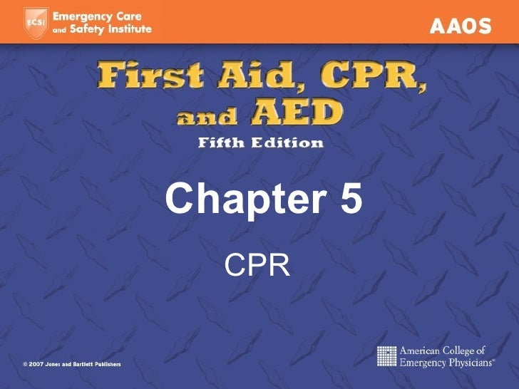 Chapter 5 CPR