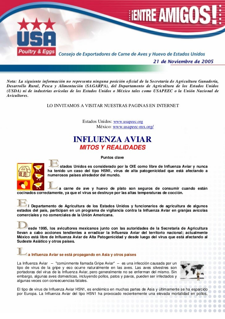 21 de Noviembre de 2005Nota: La siguiente información no representa ninguna posición oficial de la Secretaría de Agricultu...
