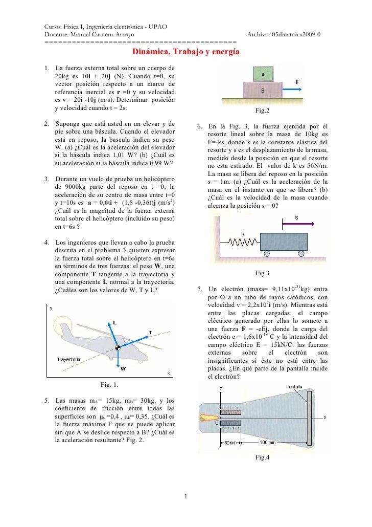 Curso: Física I, Ingeniería electrónica - UPAODocente: Manuel Carnero Arroyo                                          Arch...