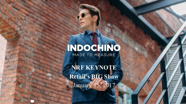 NRF KEYNOTE Retail's BIG Show January 15, 2017
