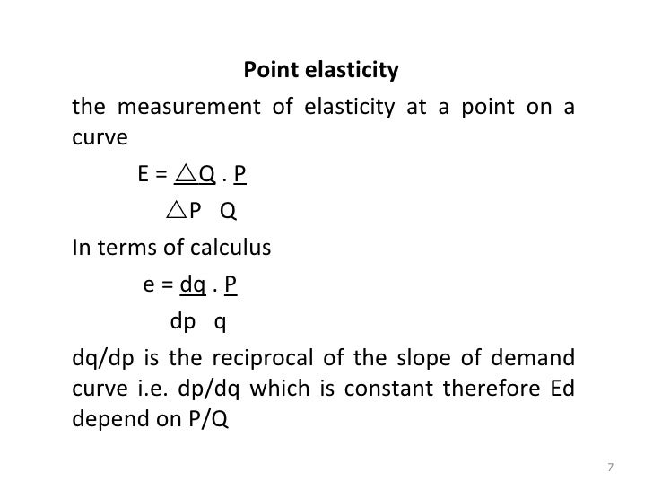 Business Economics 05 Elasticity