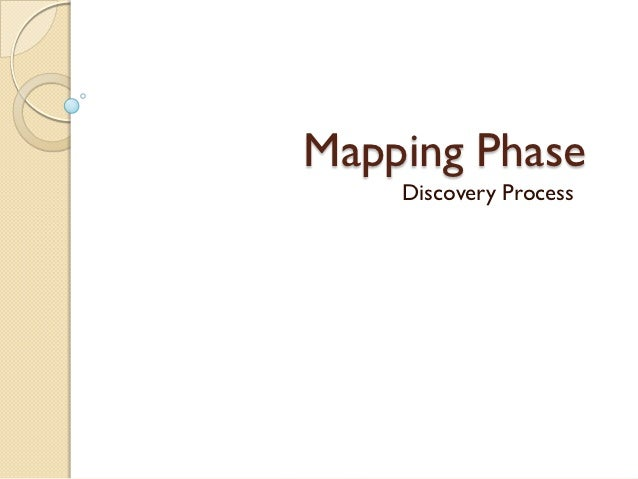 Mapping Phase    Discovery Process
