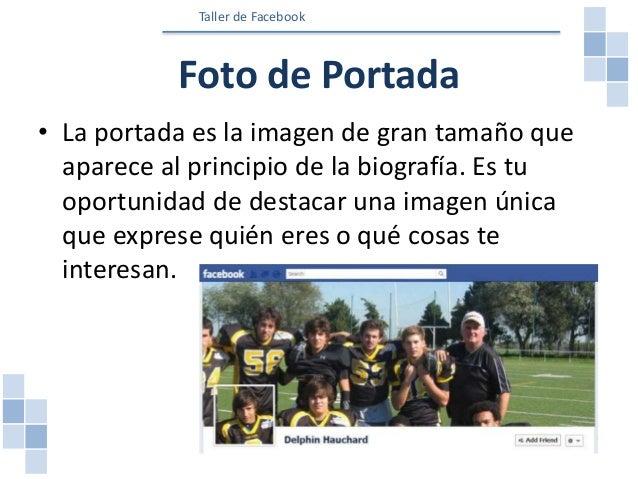 Foto del perfil • La foto del perfil es la foto principal que aparece en el perfil (biografía). • La foto del perfil apare...