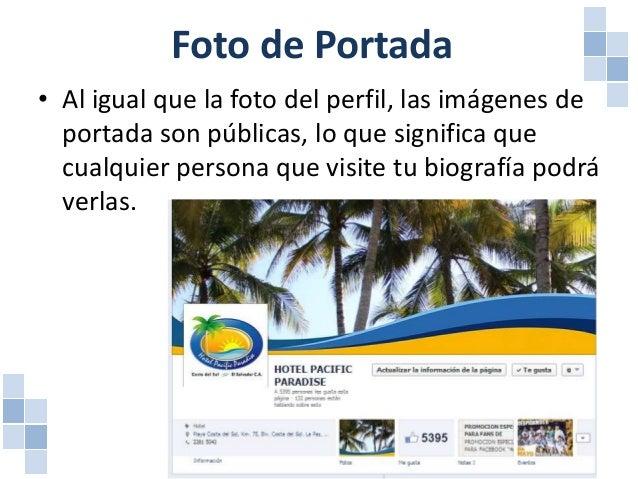 Foto de Portada • La portada es la imagen de gran tamaño que aparece al principio de la biografía. Es tu oportunidad de de...