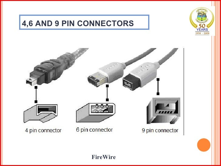 46 AND 9 PIN CONNECTORS