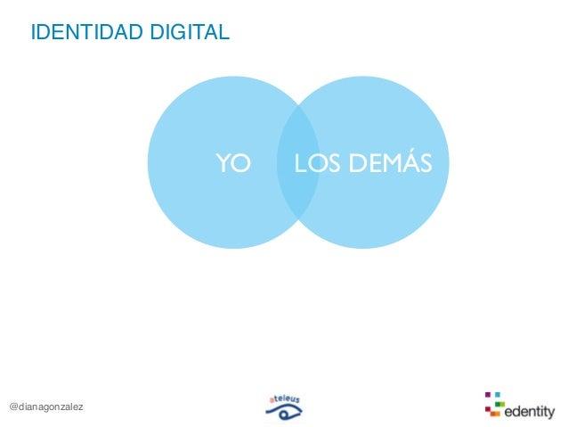 IDENTIDAD DIGITALYO LOS DEMÁS@dianagonzalez