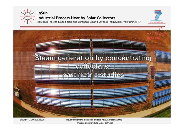 InSun Industrial Process Heat by Solar Collectors Research Project funded from the European Union's Seventh Framework Prog...
