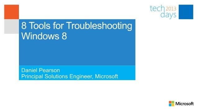 AgendaEvent Tracing for WindowsPerformance MonitorNetwork MonitorResource MonitorUser–mode DebuggerKernel–mode DebuggerWin...