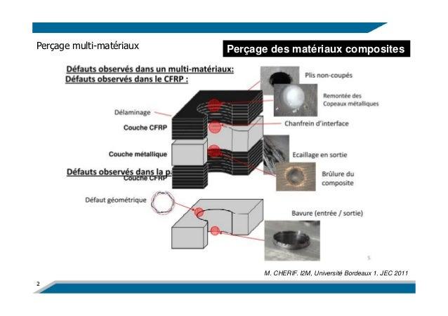 Usinage des mat riaux composites carbone epoxy - Materiaux net ...