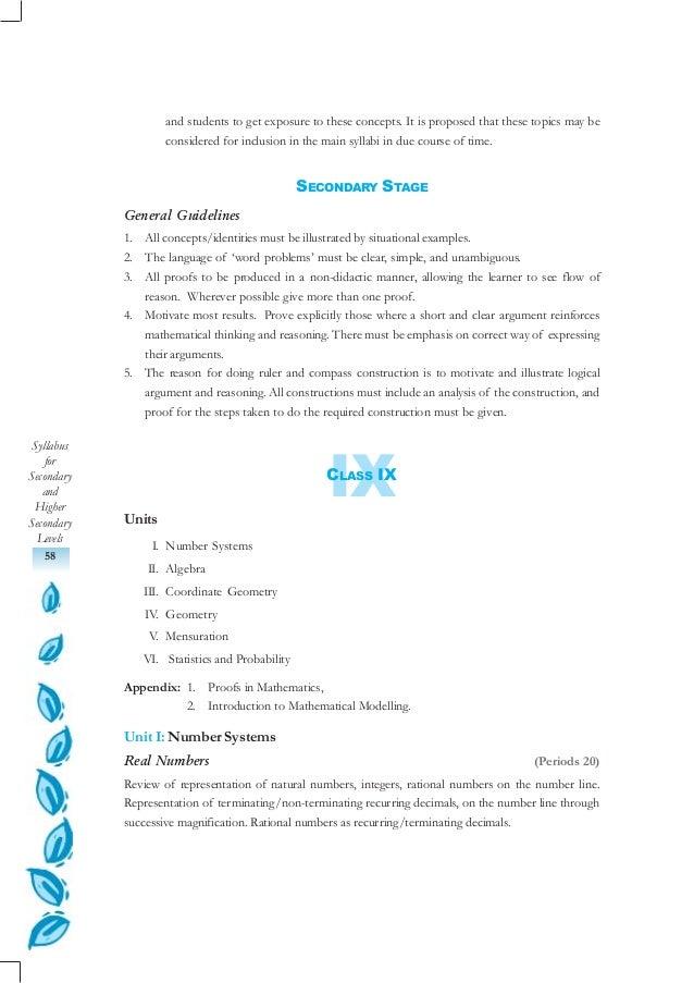 05 mathmetics (class ix xii) Slide 2