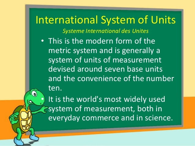 advantages of the metric system over the english system