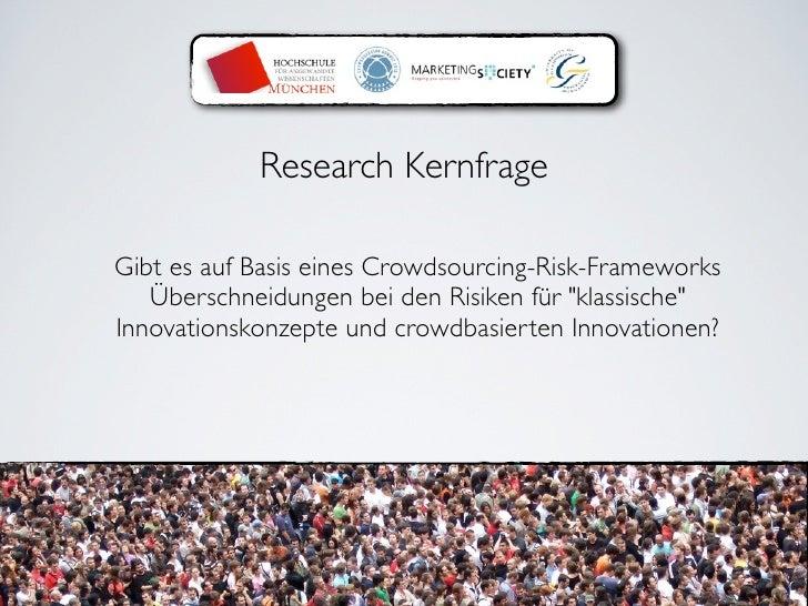 Crowdsourcing Summit: Limitierungen & rechtliche Aspekte von Crowdsourcing Slide 3